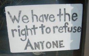 we have the right to refuse